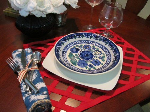 Photo 7--Lattice Ribbon Placemat