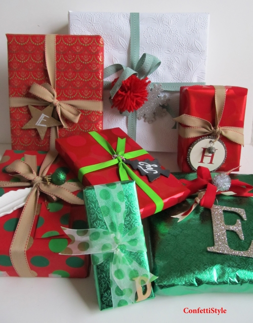 2013 Holiday Gift Wrap Theme--Classic Christmas Colors