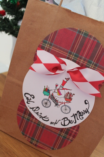 Holiday Eat, Drink and Be Merry Gift Bag (7)