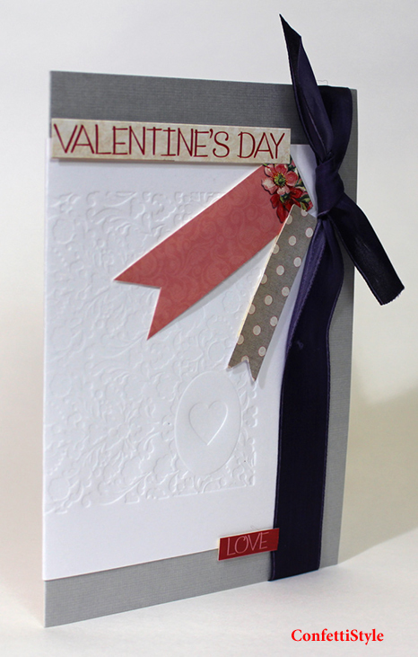 Heart Card by ConfettiStyle